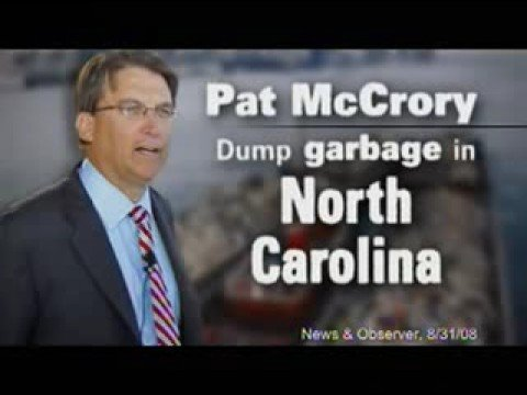 "Perdue's ""Floating"" ad on McCrory"