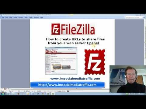 How to create URLs to share files from your web server Cpanel