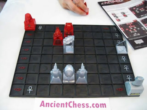 How to Play Khet - the Laser Game - Chess Variant