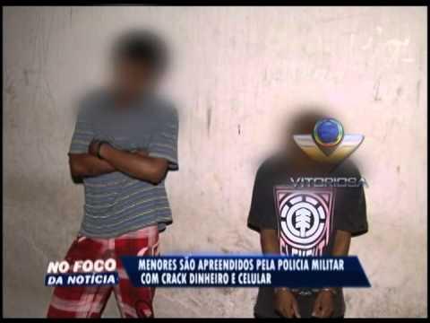 Menores são apreendidos suspeitos de tráfico de drogas no Alto Umuarama
