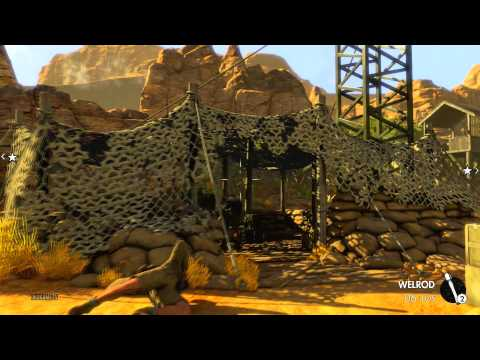 Sniper Elite 3 - Mission 1 Siege of Tobruk - Authentic Difficulty Solo Walkthrough