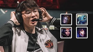Everything FAKER did at MSI 2017 | #LeagueOfLegends
