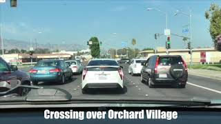 Driving Test Route Newhall CA