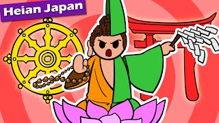 Early Japan Religion, Buddhism + Shinto (Are the Warrior Monks Here Already?)   History of Japan 43
