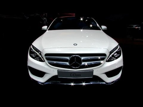 2015 Mercedes-Benz C-Class C400 - Exterior and Interior Walkaround - Debut at 2014 Detroit Auto Show