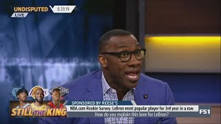 Shannon Sharpe reacts to NBA Rookies don't like Curry AT ALL and vote Lebron their favorite player