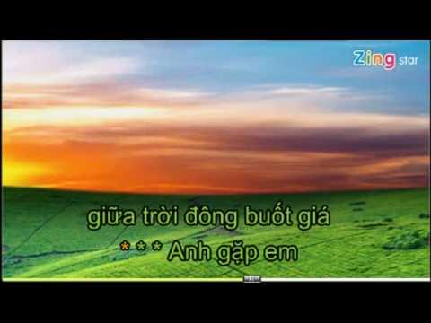 Mua Dong Khong Lanh Karaoke