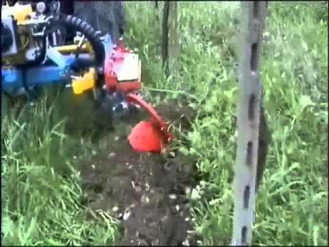 per vigne con aratro scalzante interfilare dx modello EXPO SINGOLO R