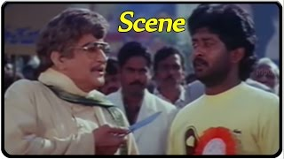 NTR Supporting For Students Strike Scene || Major Chandrakanth Movie || NTR