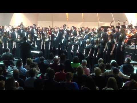 The Ridgewood High School Chamber Choir