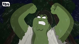 The Incredible Hulk Intro | Family Guy | TBS