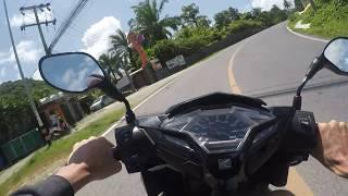 Honda Click 125 Phuket GoPro Hero 5 Black