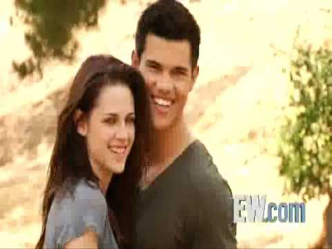 Kristen Stewart & Taylor Lautner - EW Photoshoot Behind The Scenes