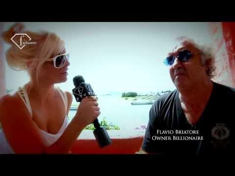Day with Flavio & Elisabetta Briatore @ Billionaire Sardinia | FashionTV - FTV.com