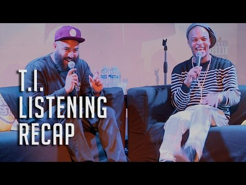 T.I. Talks Snoop & Iggy, Tiny + Paperwork! Listening Party RECAP)