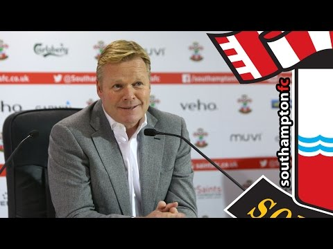 PRESS CONFERENCE: Ronald Koeman pre-Arsenal