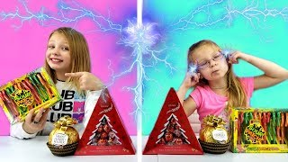 Twin Telepathy MYSTERY FOOD Challenge!!!