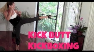 Kickboxing, Kickboxing Classes, Free Kickboxing Workout: Kick Butt Kickbox (fat burning cardio, abs)