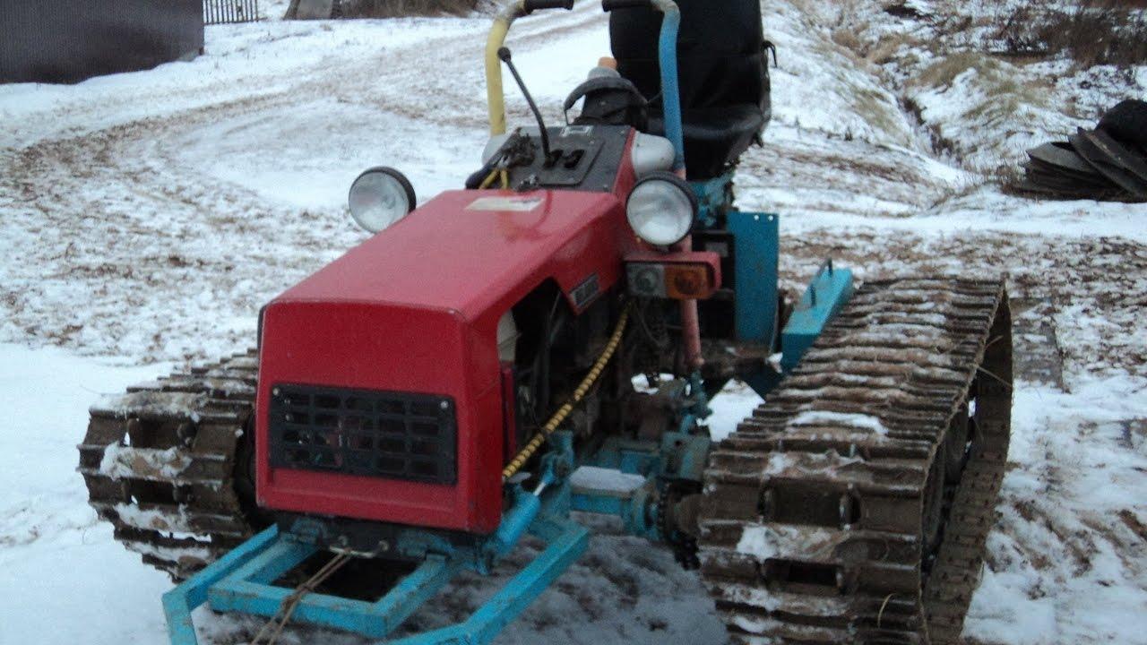 Гусеничный мини-трактор своими руками 45