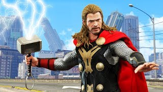 Playing GTA 5 as THOR!
