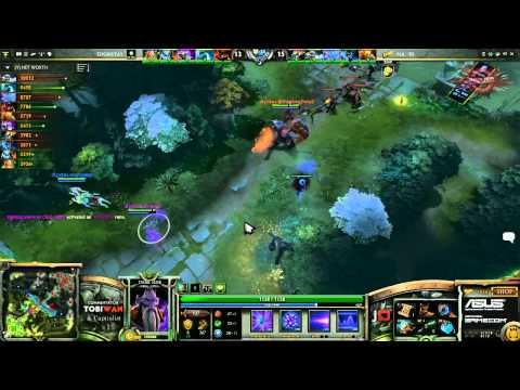 Natus Vincere vs Team Dignitas Game 1   Dreamhack Summer 2013 DOTA 2  Quarter Final TobiWan
