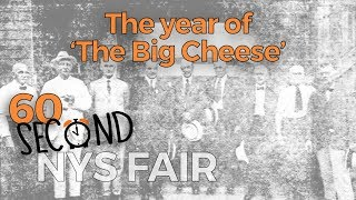 60-Second NYS Fair: The year of 'The Big Cheese'