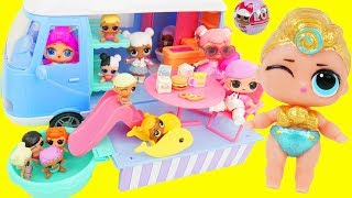 Lil Luxe and Fresh Go Camping in Pool, visit Doctor Barbie with Punk Boi