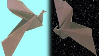 How To Make An Origami Eagle + Bat *original By Danbergam* ...for All (62)
