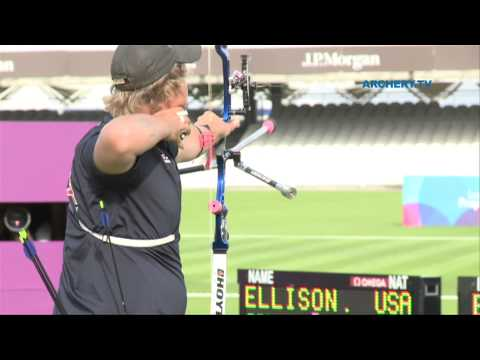 Ind Match 1/2 #M2 - London Archery Classic Olympic Test Event 2011