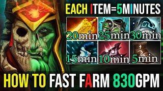 ULTRA FARMING SPEED 830GPM 26Kills [Wraith King] The King has Awakened Ramzes 7.19 | Dota 2 FullGame