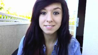a very goofy update. - Christina Grimmie