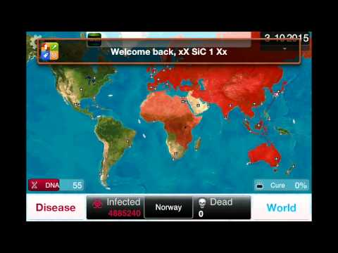 Guide: Plague Inc. Fungus on Brutal
