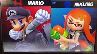 ORG ramble (Mario) vs Aluf (Inkling) - Armageddon Expo 2018 Super Smash Bros Ultimate Demo