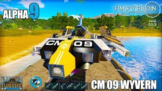 CM WYVERN | NEW STARTER SV | 2nd EASY TALON MISSION | Empyrion Galactic Survival ALPHA 9 | Ep 11