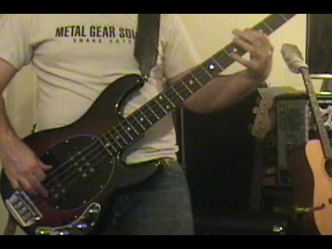White Denim - I Start To Run (Bass Cover) with TAB