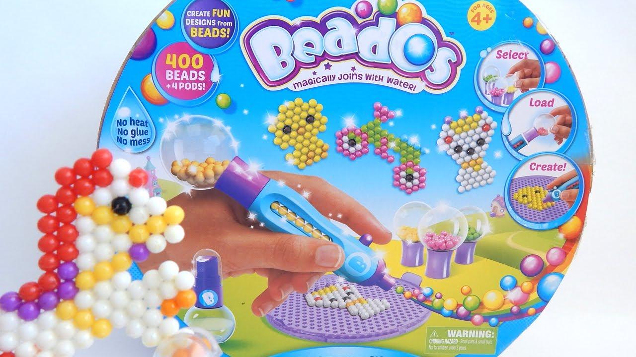 Girl Beados Toys : Beados starter set by moose toys review youtube