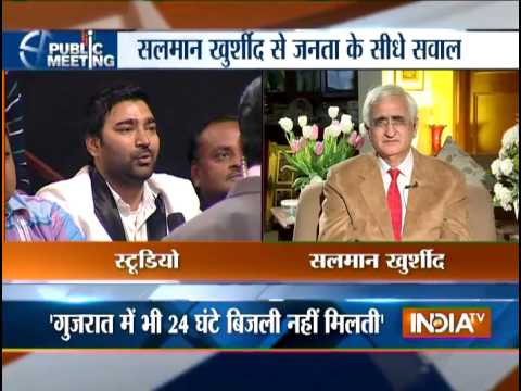 Public Meeting with Salman Khurshid: Why Muslim leaders of Congress are not campaigning in Polls