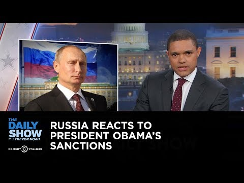 Russia Reacts to President Obama's Sanctions: The Daily Show
