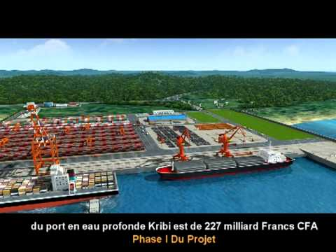 Kribi Deep Seaport Project Presentation, Cameroon