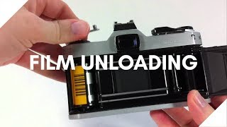 How to unload a 35mm film camera - Detailed Guide