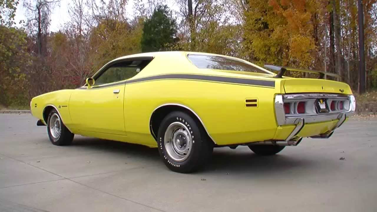 134554 / 1971 Dodge Charger Super Bee - YouTube