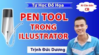 Hướng dẫn sử dụng Pen tool trong Illustrator |  Tự Học Đồ Họa