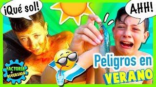 ¡¡Los PELIGROS del VERANO!! 🏖 MALETA para estar a SALVO en VERANO 🌞 CUENTOS DIVERTIDOS