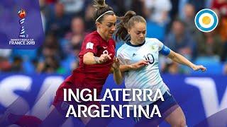 Inglaterra 1-0 Argentina - Resumen del partido - Mundial de Fútbol Femenino FIFA 2019