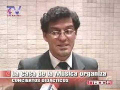 La Casa de la Música organiza conciertos dicácticos