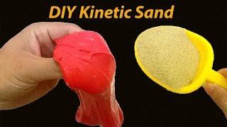 4 WAYS DIY KINETIC SAND WITH MY SLIME
