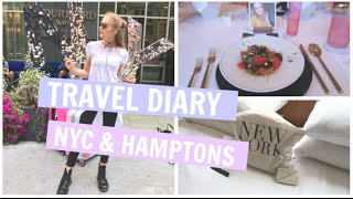 TRAVEL DIARY - NYC & the HAMPTONS with Maybelline