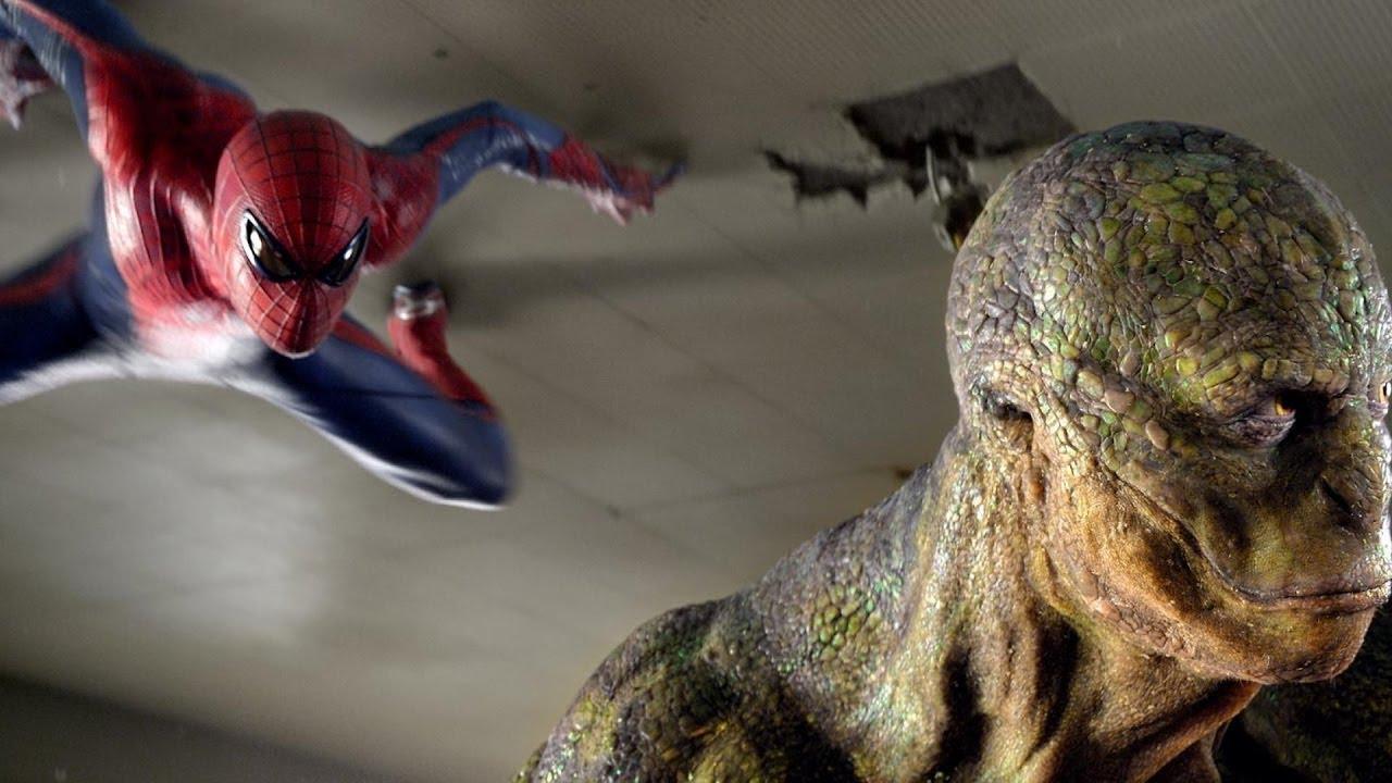 Человек-паук против Ящера [Битва в школе] ✫ Новый человек-паук (2012) ✫ лучшие моменты marvel