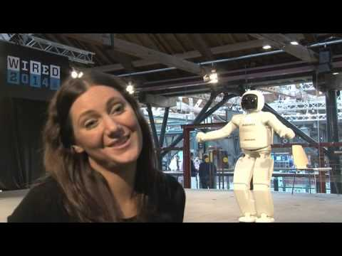 Video: Asimo robot takes first steps in UK, but can it really help around the house?