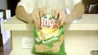 jak zamknąć paczkę chipsów